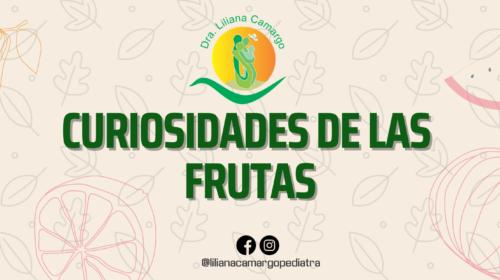 curiosidades de las frutas
