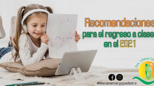 recomendaciones clases virtuales para niños